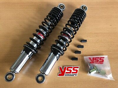 YSS Stoßdämpfer 320mm Hercules Mofa Moped Prima 2 3 4 5 Optima 50 MF MP HR