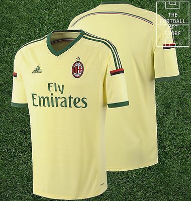 AC Milan Away Shirt - Official adidas Football Jersey - Mens - All Sizes