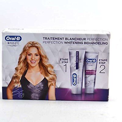 ADVANCED PERFECTION WHITENING FORMULA Oral-B 3D White Luxe 2 STEP Treatment