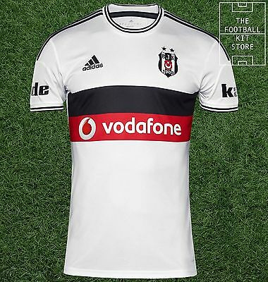 Besiktas Home Shirt - Official adidas Turkish Football Jersey - Mens - Medium