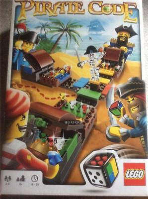 Lego Pirate Code  Board Game Blocks  Childrens Toys 3840 New In Box