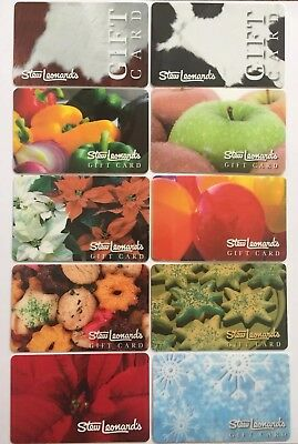 Stew Leonard's Collectible Gift Card. Set of 10 Mint. Worldwide shipping