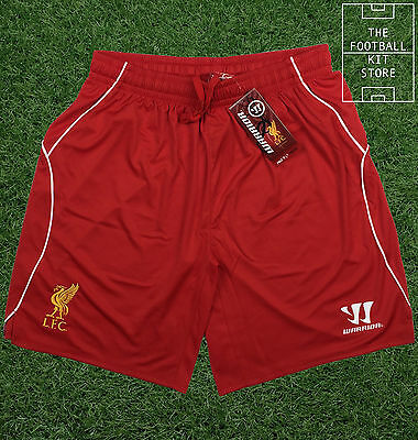 Liverpool Home Shorts - Official Warrior Football Shorts - Mens - All Sizes