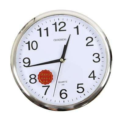 Large Vintage Round Modern Home Bedroom Retro Time Kitchen Wall Clock Quart W4Y2