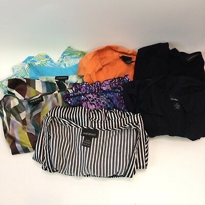 Lane Bryant Womens 18 20 LOT 7 Shirts Tops Career Casual Wholesale Wardrobe
