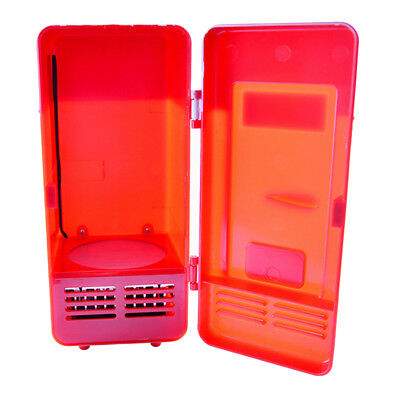 mini frigo usb noir ou rouge pour canette boissons gadgets de bureau voiture eur 1 00. Black Bedroom Furniture Sets. Home Design Ideas