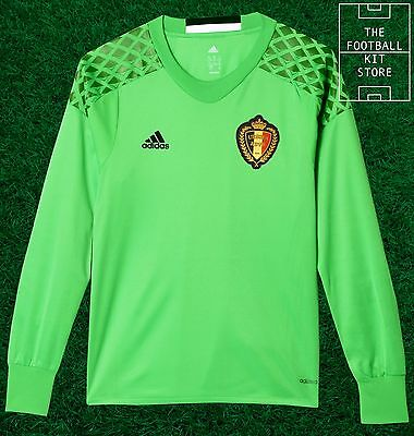 aae3ce74b Belgium Goalkeeper Home Shirt - Official adidas Boys Football Jersey - All  Sizes