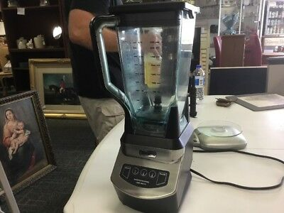 Ninja NJ600 3-Speeds Blender-Excellent Condition-LOOK!