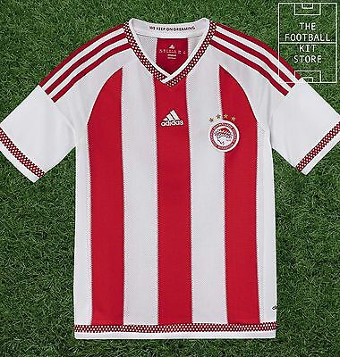 Olympiakos Home Shirt - Official adidas Boys Football Shirt - All Sizes
