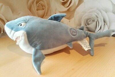 Disney store Finding Nemo Bruce shark soft toy collectable