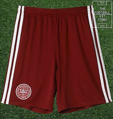 Denmark Home Shorts -  Official adidas Football Shorts - Boys