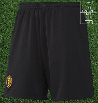 Belgium Away Shorts - Official Adidas International Team Shorts - Mens All Sizes
