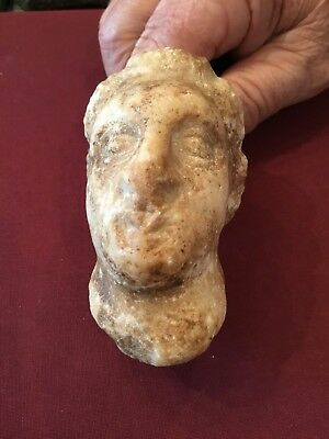 Ancient Rome Artifact Pagan God Of Laodicea (marble)