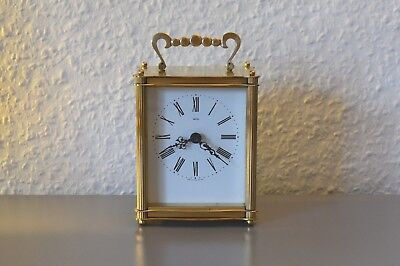 SMITHS carriage clock. Working order. Made in England. Brass