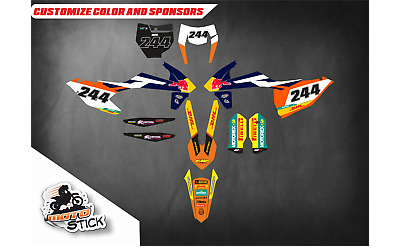 KTM EXC  2017-2018 Graphic Kit
