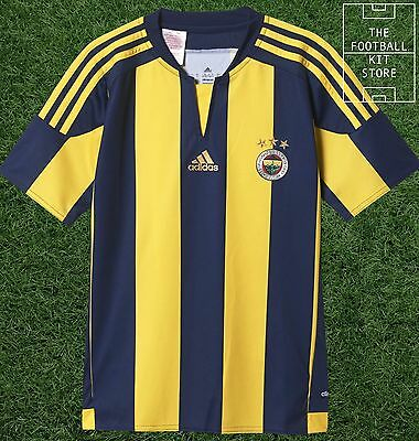 Fenerbahce Home Shirt - Official adidas Boys Turkish Football Jersey - All Sizes