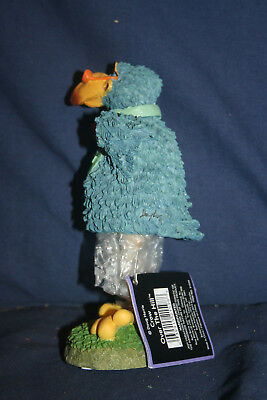 Vintage Collectible Russ Bobblehead Crow Had Painted Over The Hill With Box