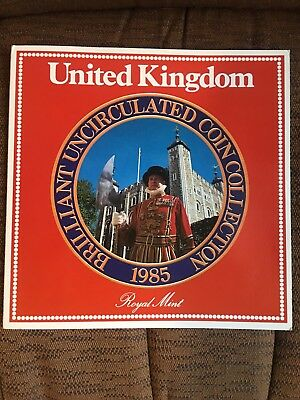 1985 United Kingdom Brilliant Uncirculated Coin Collection
