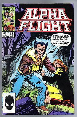 Alpha Flight #13 Vol.1  (X-Men) Wolverine