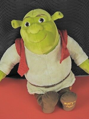 "SHREK THE THIRD OGRE 18"" PLUSH 2007 Macy's Exclusive Mint Condition  (Y-RE23)"