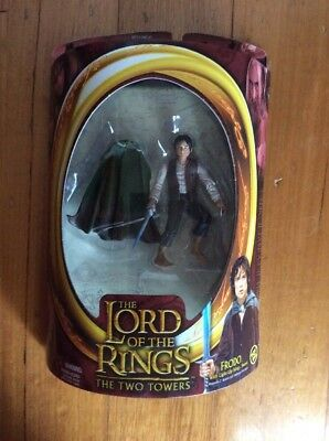 2003 TOY BIZ LORD OF THE RINGS THE TWO TOWERS Frodo