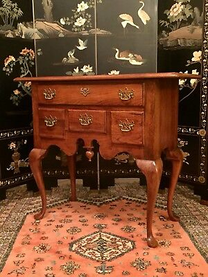 Thomasville Queen Anne Buffet Wood Hallway Table Furniture Usa Side Board Vtg 1