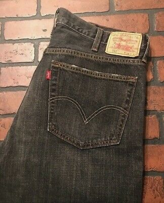 5244206a LEVI'S 567 LOOSE Boot Cut Button Fly Men's Jeans Size 38 x 32 ...