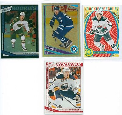 2013-14 OPC Opeechee Black, Rainbow, Retro & Regular  (Various U-Pick)