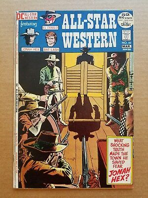 All Star Western Comics #10 1971 1st Appearance Jonah Hex HUGE KEY DC Hot ASW
