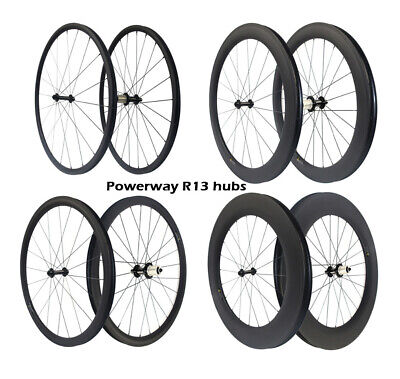 Ultra Light R13 Hub 700C Carbon Wheel 24 38 50 60 88 Clincher Road Bike Wheelset