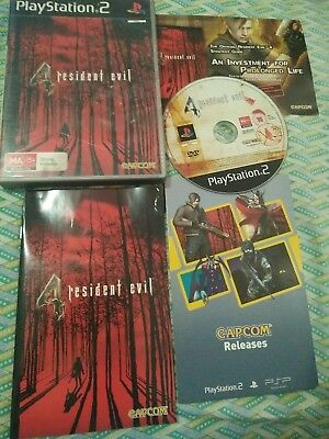 Resident Evil 4 - Playstation 2 (PS2) *Complete* *CAPCOM* PAL, AU