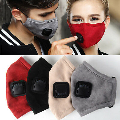 Anti Dust Mask Mouth Activated Carbon Filter Windproof Mouth-Breathing Masks