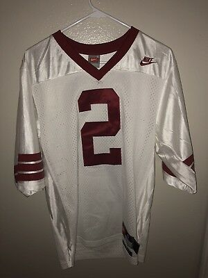 buy online 04570 2c845 DEION SANDERS NIKE Florida State Jersey Sz Small