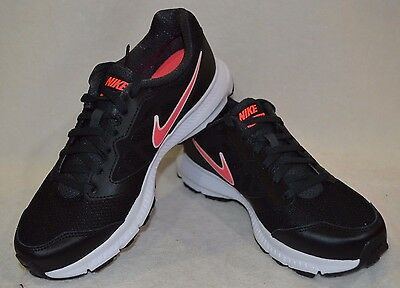b1a82ee371a8 Nike Women s Downshifter 6 Black Hyper Punch Running Shoes - Assorted Sizes  NWB
