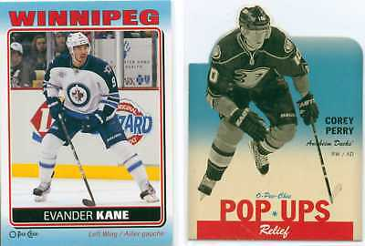 2012-13 OPC Opeechee Pop ups & Stickers  (Various U-Pick)