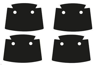 4 x (Pack of 4) Black Trench Coat Capes for LEGO Minifigures NEW