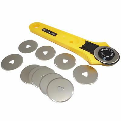Rotary Cutter 28mm Blades Replace Roll Leather Patchwork Fabric Paper Craft Tool