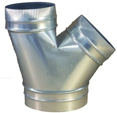 Speedi-Products 10 in x 8 in x 8 in Wye Branch HVAC Duct Fitting Connectors NEW