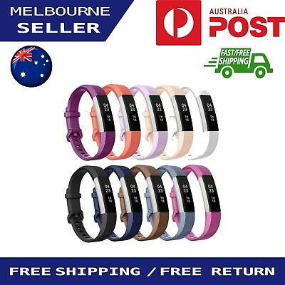 Replacement Silicone Band Sport Bracelet Fitness Watch Strap For Fitbit Alta/HR