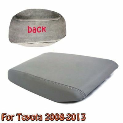 Car Leather Cover Center Console Lid Armrest For Toyota 2008-2013 Highlander NEW