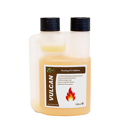 Hydra Heating Oil Additive Treats 500L+ Reduces Oil Consumption 100ml
