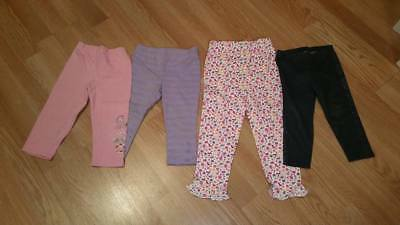2 Pair NEW 75/% Off Gymboree Girls Size 7 Culottes Wide Leg Denim Capri Jeans
