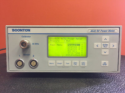 Boonton 4532 10 Hz to 40 GHz, >60 dB Peak Power Range, GPIB, RF Power Meter