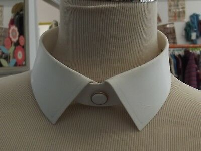 Original Vintage Harrods Shirt Collar size 16 detachable stiff peaky blinders