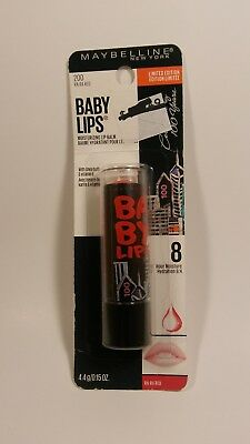 Maybelline Baby Lips Moisturizing Lip Gloss 200 Ra-Ra Red ~Combined Ship