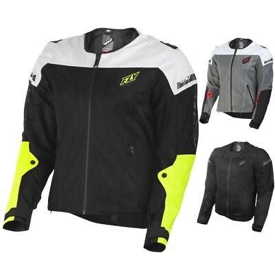 Fly Street Flux Air Mens Mesh Street Riding Motorcycle Jackets