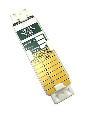 Laddertag Ladder Tag Inspection Systems Kits/holders/tags & Inserts