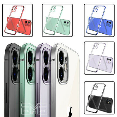 Apple iPhone X XS Max XR iPhone 7 8 Plus Clear Case Shockproof Slim Bumper Cover