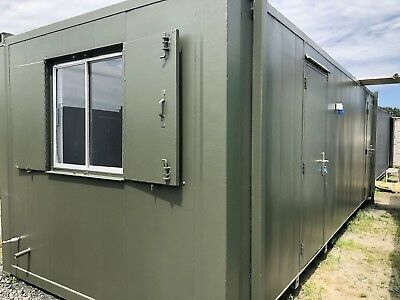 24ft x 9ft  Anti Vandal Canteen Site Office/Portable Building/Canteen Container