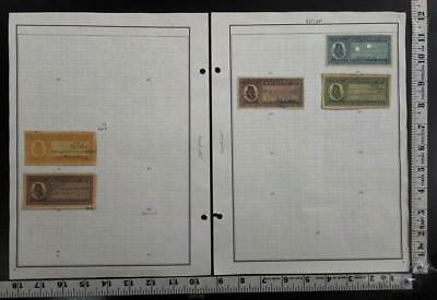 India Princely State Ratlam 9 Diff Rare Fiscal Court Fee Revenue Stamp #340207
